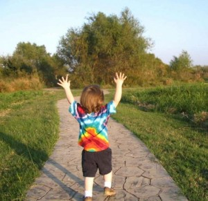 outdoor play with movement activities