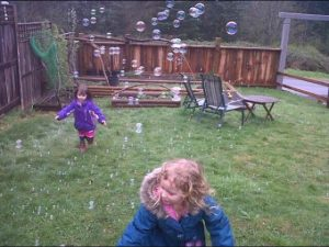 chasing bubble nature time
