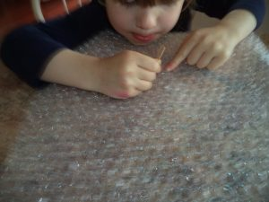 bubble wrap science fun