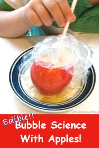edible bubble science with apples (5) label