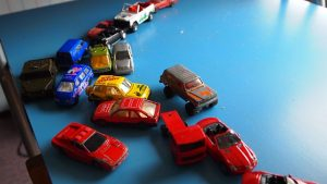 categorizing skills with cars and trucks