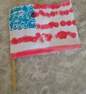 make a flag craft