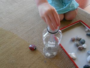 moon rocks bottle activity