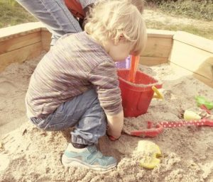 sand play activities for kids