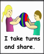sharing and taking turns for kids