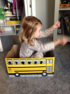 bus pretend play