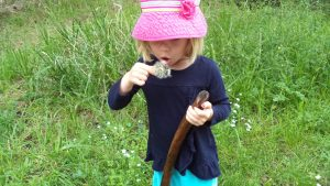 time in nature for young children