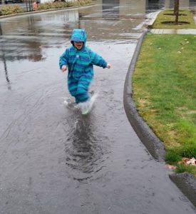 nature play rain