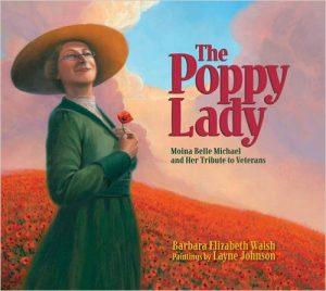 The Poppy Lady Remembrance Day Poppy Day