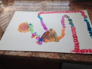 kids Chinese new year painting craft