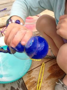 bubble messy play activities