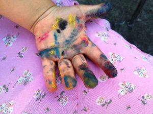 messy play development learning