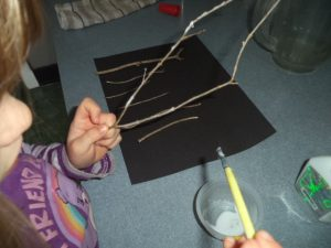 fairy craft night forest