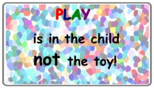 play is in the child