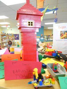 rupunzel's lego tower