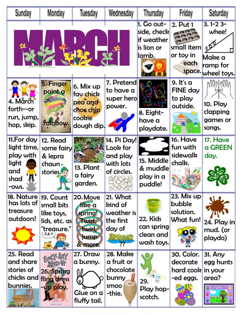Easter fun learning play activities