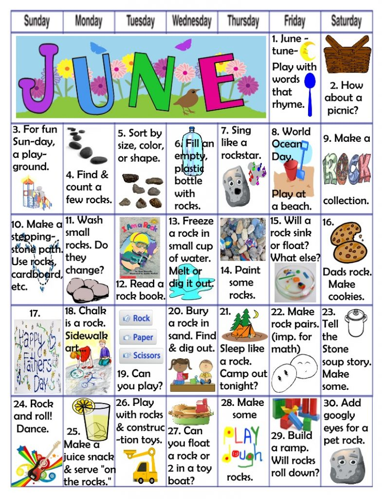 june play activities kids